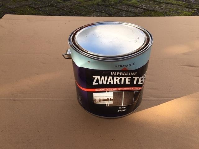 Hermadix zwarte teer - 2,5 liter
